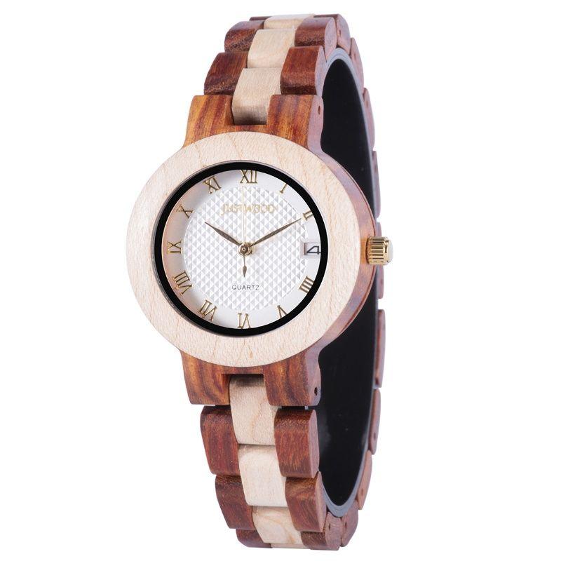 Diana Ladies Wooden Watch