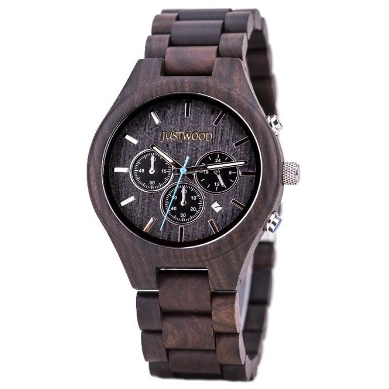 atlantis wooden watch